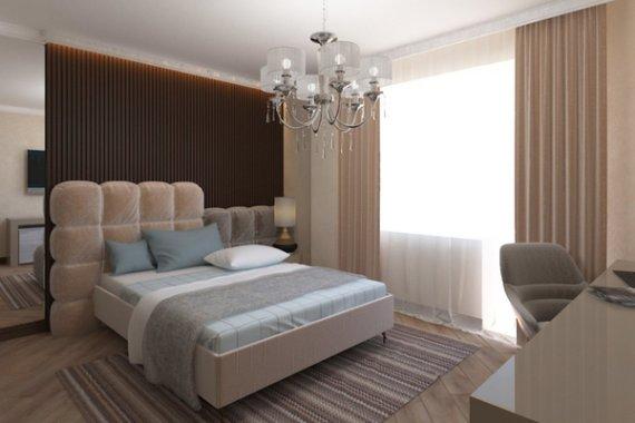 Дизайн-проект квартиры для молодожёнов